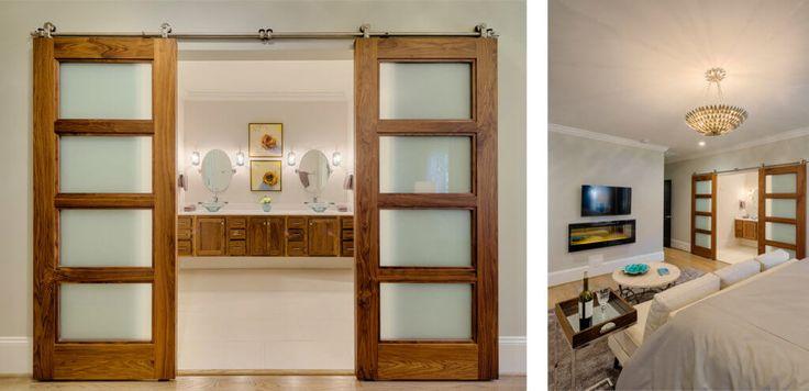 Image result for satin walnut contemporary internal doors
