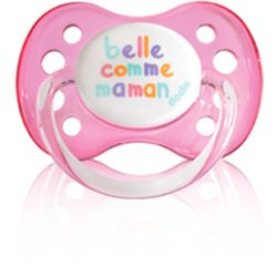 Dodie Sucette Anatomique Silicone Belle Comme Maman Rose 0-6m A20 - dodie - 3.10€
