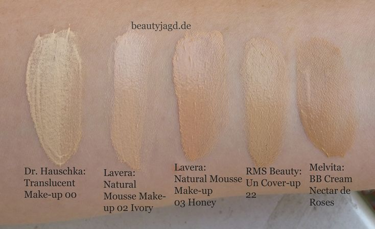 dr hauschka translucent makeup 00 lavera natural mousse makeup 02 ivory lavera natural. Black Bedroom Furniture Sets. Home Design Ideas