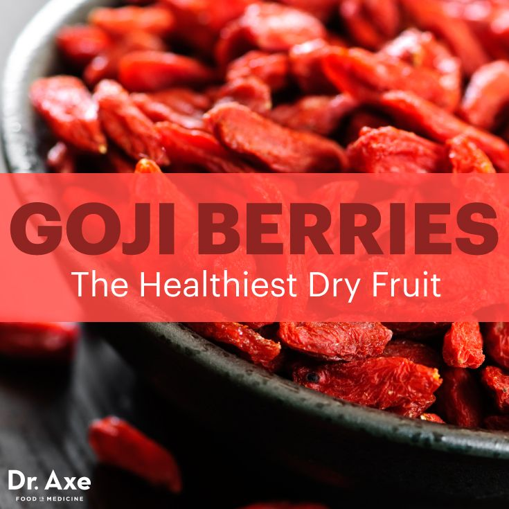 Goji berries are the healthiest dry fruit - Dr. Axe http://www.draxe.com #health #holistic #natural