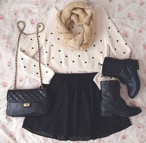 this is a perfect outfit for fall & winter! …