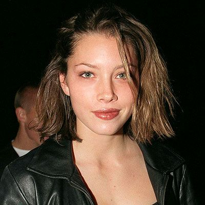 Jessica Biel grungy/natural look