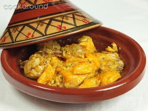 Tajine di pollo con arance caramellate: Ricette Marocco | Cookaround