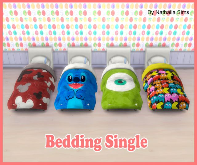 Bedding Single Conversion 2t4 | Nathalia Sims