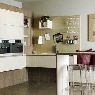Integrated kitchen notice board designed by Candi Kitchens