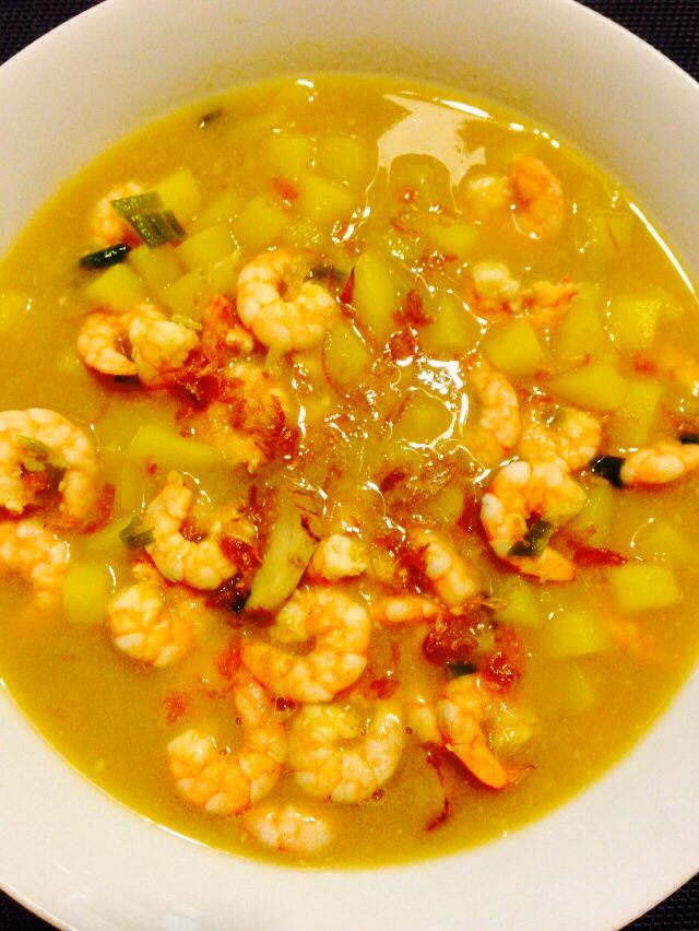 Sup udang kentang #homemade