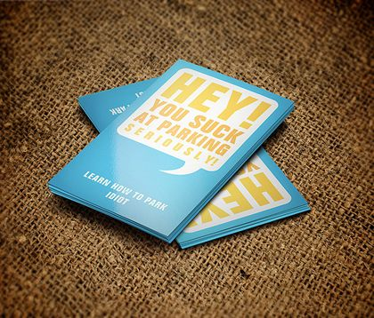 Highly-Creative Examples Of Professional Business Cards Design