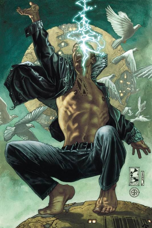 Simone Bianchi Cable X Man X Men Future Marvel Art