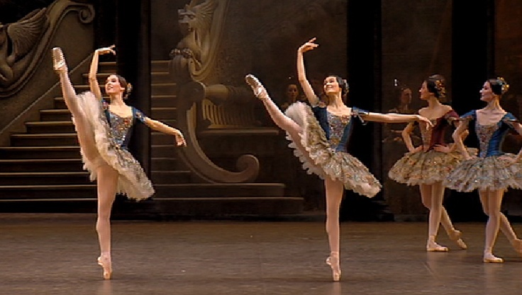 Miteki Kudo. paquita - paris opera ballet