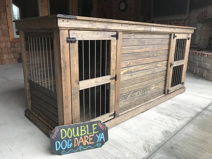 Best 20 extra large dog kennel ideas on pinterest for 2 dog crate furniture