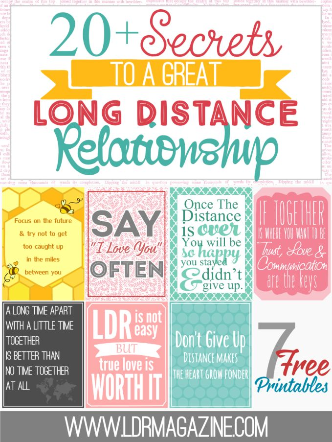 Long Over Relationship Signs Is A Distance
