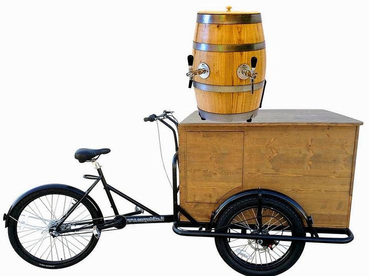 BEER BIKE DLX Tricycle A78 Cargo Bike BEER Shop on Tricycle