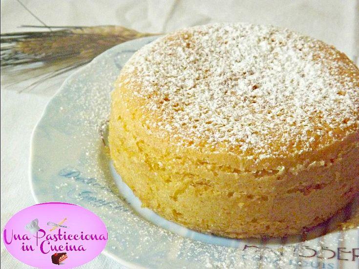 Sponge Cake alla Vaniglia Ricetta