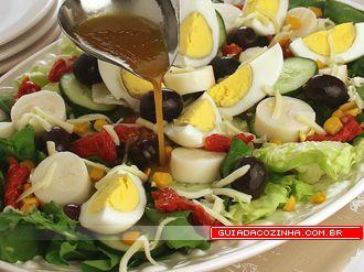 Receita de Salada mista