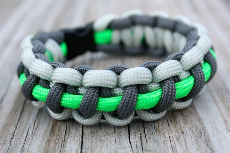 Paracord Bracelet Instructions The Base Camp 3 Color Survival By Topknotchgear