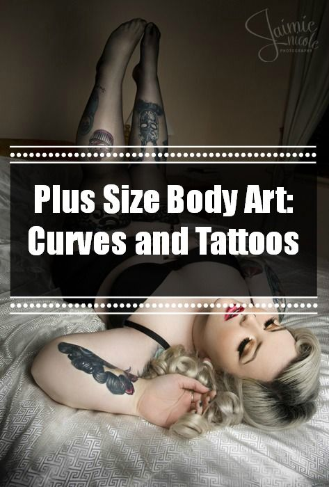 Plus Size Body Art: Curves and Tattoos