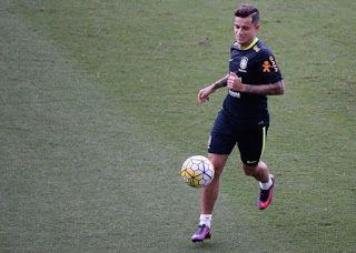Blog Esportivo do Suíço:  Tite repete formação com Coutinho, e confirma o time para encarar a Bolívia