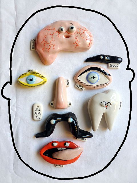 Make Picasso activity? Make bags with weird face parts...put them together and draw them?