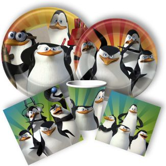 Penguins of Madagascar party supplies from www.Discountpartysupplies.com