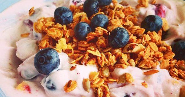 Proteinrik frukost