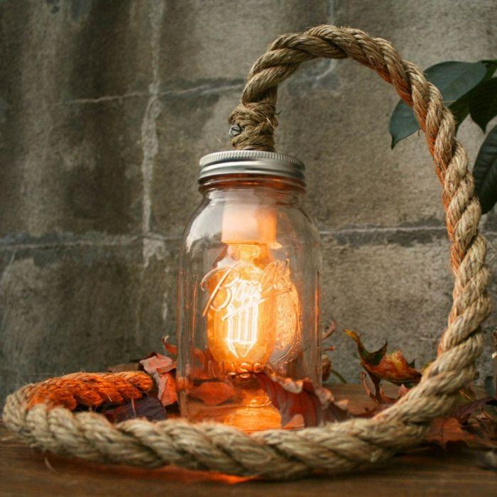 ber ideen zu seil lampe auf pinterest seile lampen und nautisch. Black Bedroom Furniture Sets. Home Design Ideas
