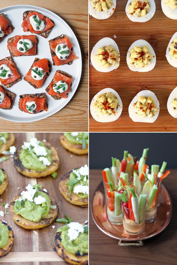 Hosting people for Easter this year? You're going to need some good food, and these bite-size appetizers are perfect for springtime entertaining. With 42 recipes including mini smoked salmon toast, spicy deviled eggs, and individual hummus and crudités cups, you're sure to find a few that speak to you.
