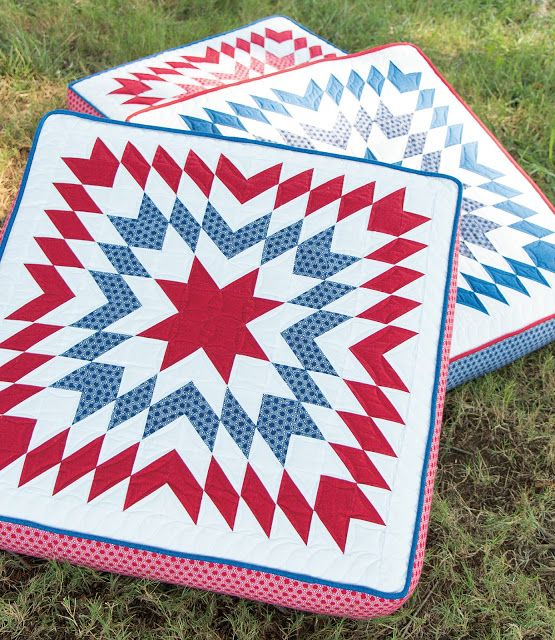 447 Best Red White And Blue Quilts Images On Pinterest