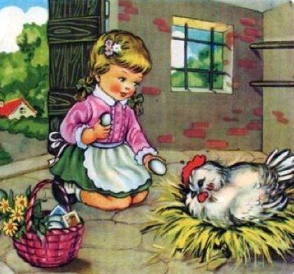 With hen..Maria Pia Franzoni