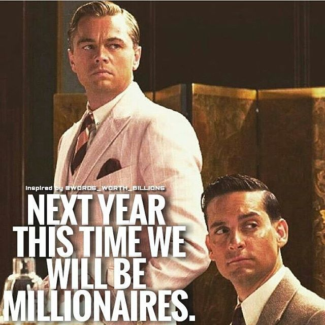 Idk about millionaires but hubby & I will be a lot better off financially next year! Can't wait to reward those who helped & believed in us