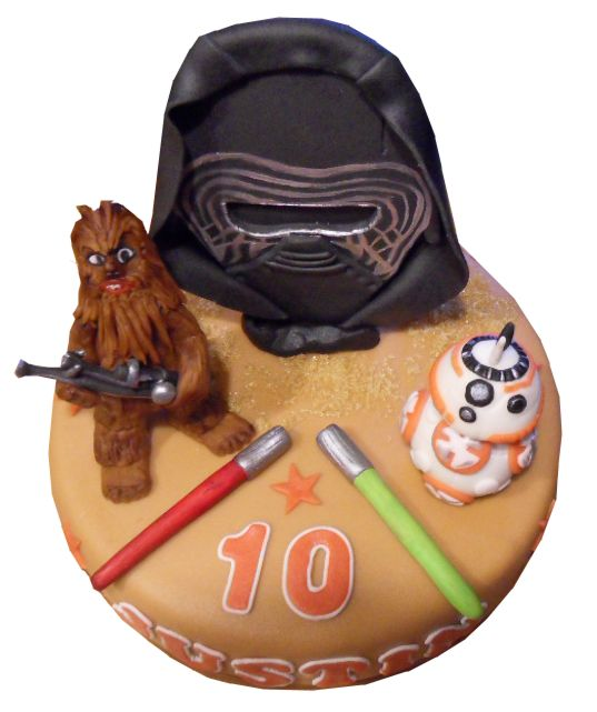 Star wars 7 cake
