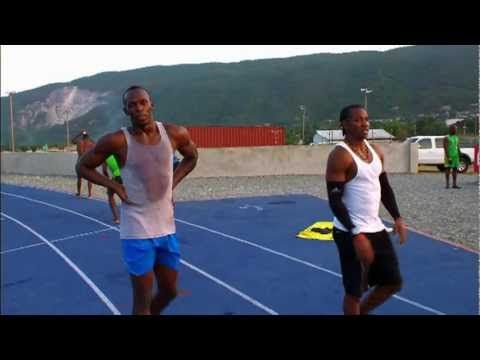 Usain Bolt - Glen Mills Training Session