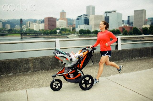 Run with Stroller! -- New Mom Workout Ideas and Fat-Blasting Exercises That Include Your Baby