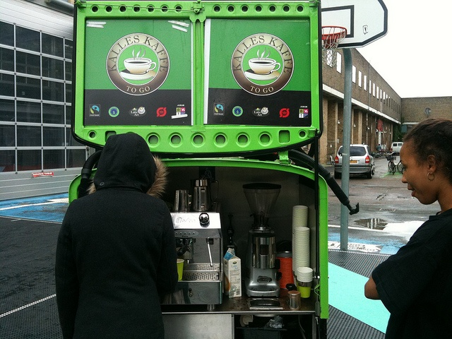 Rebuild21: Kalle's Kaffe was on hand to provide Rebuilders with their daily cup of joe.