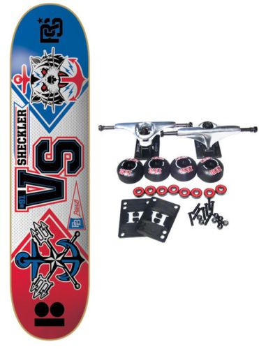 PLAN B SKATEBOARDS Complete Pro Skateboard RYAN SHECKLER MASCOTTS 8.0