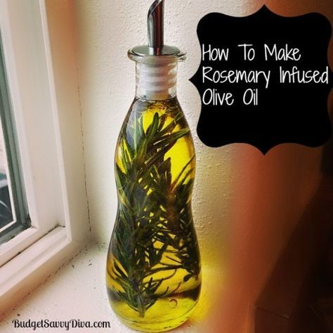 How To Make Rosemary Infused Olive Oil Recipe I used Pompeian Olive Oil that I  got from BzzAgent for free! #GotItFree