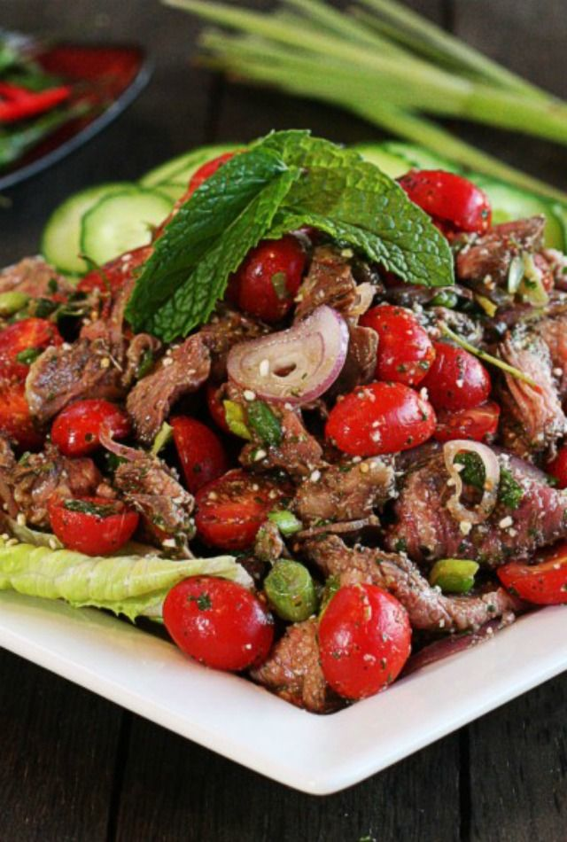 Thai Beef Salad | The Hopeless Housewife®