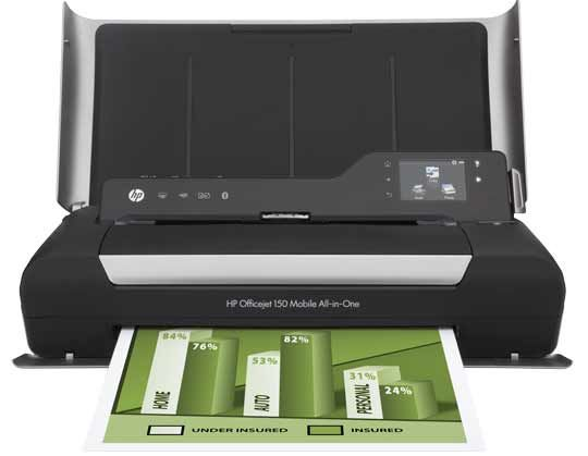 HP Officejet 150 Portable aio