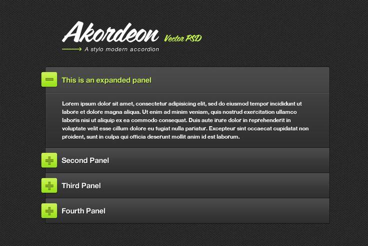 "accordion web page - ""Google"" paieška"