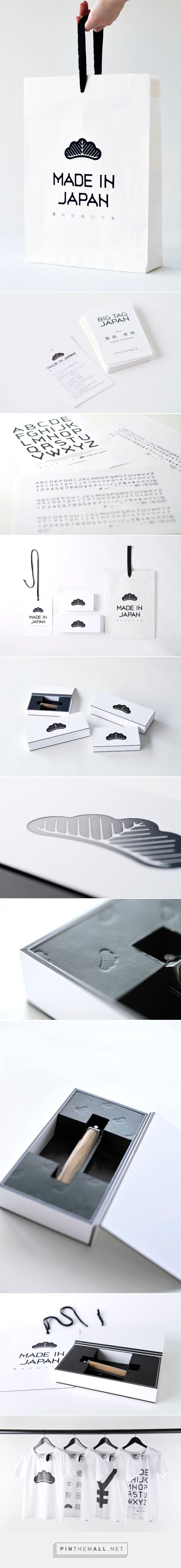 Big Tag Japan         on          Packaging of the World - Creative Package Design Gallery - created via https://pinthemall.net