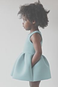 Little Girls Ladylike dress with a fit and flare silhouette features a full pleated skirt with hidden pockets. Whether you dress it up or down, this silhouette commands attention.