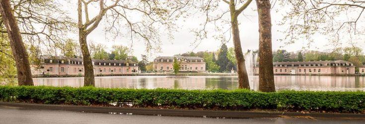 Schloss Benrath in Düsseldorf-Benrath, Barock, Lustschloss vom Kurfürsten Jan Wellem