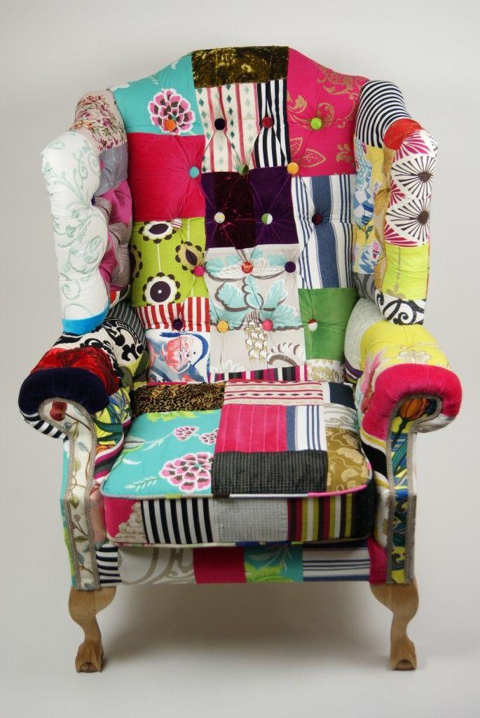 Nonsense U0026 Sensibility U2013 Summer Loving: Patchwork Chairs