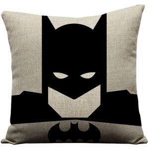 Set of 4 superhero pillows, superman pillow, batman pillow, spiderman pillow, ironman pillow, superhero, superman, batman, super hero pillow