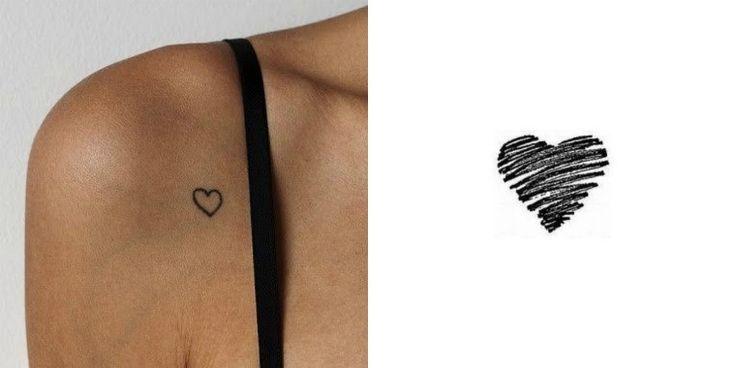 Tatouage cœur : idées pour un petit tatouage stylé