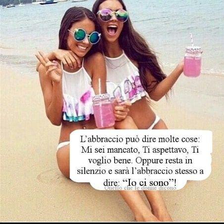 """""""Mi piace"""": 5, commenti: 3 - raya (@frasi_raya) su Instagram: """"#frasi #amicizia #abbraccio #bff #frasidolci"""""""