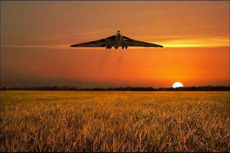 What beautiful pic of the Vulcan