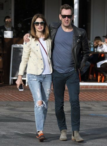 Michelle Monaghan and her husband, Peter White, step out for a romantic stroll on Sunday, Jan. 18 in Hollywood.