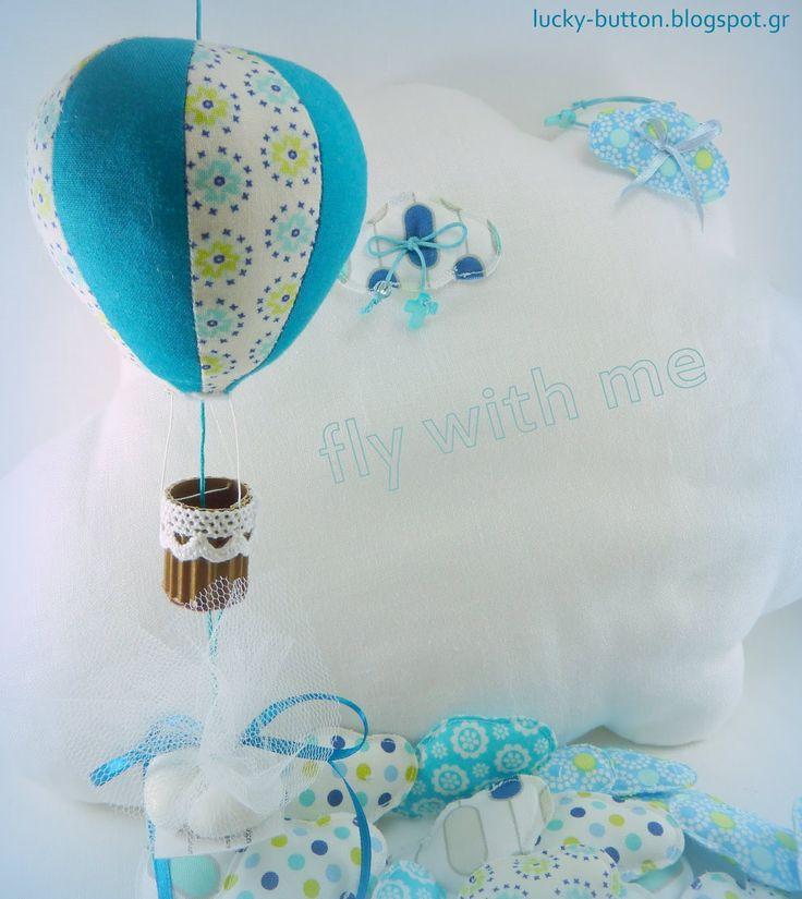 Το τυχερό κουμπί: Μπομπονιέρες Βάπτισης Αερόστατα Μαρτυρικά βάπτισης συννεφάκια lucky-button.blogspot.gr