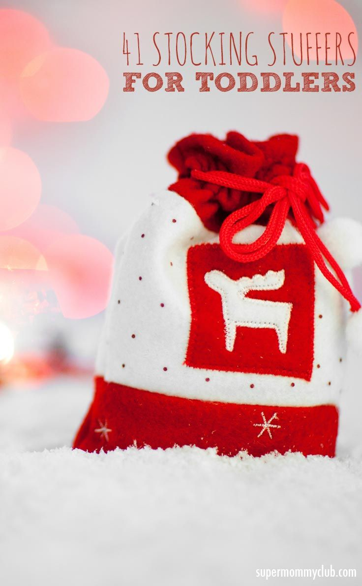 Stocking stuffers for toddlers - great ideas from practical to fun!