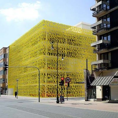 Library in Lodz, Poland.